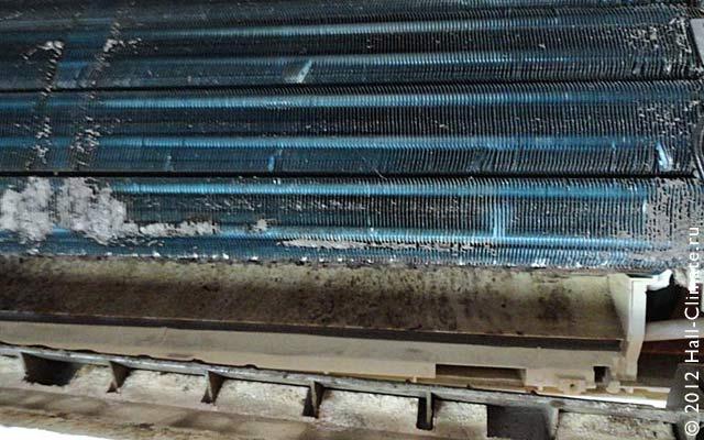 Что такое качественная чистка кондиционера. Холл климат. Москва.